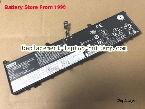 LENOVO ThinkPad P120MD000DGE Battery 5235mAh, 80Wh  Black