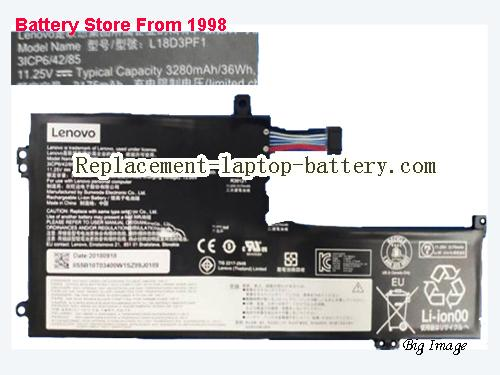 LENOVO IdeaPad L340-15IWL 81LG Battery 3280mAh, 36Wh  Black