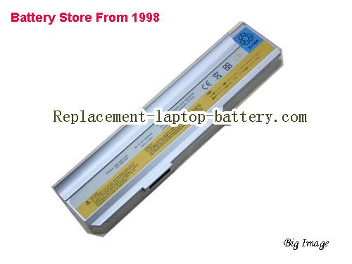 LENOVO 3000 C200 Battery 4400mAh Silver