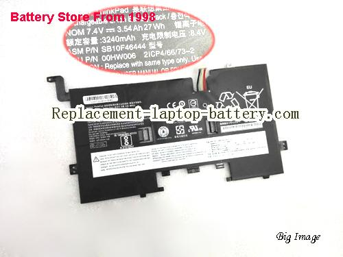 LENOVO 2ICP4/66/73-2 Battery 3540mAh, 27Wh  Black