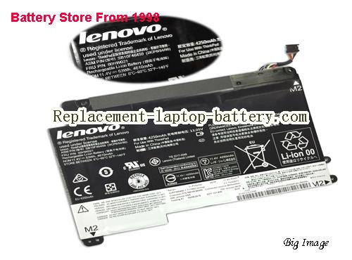 LENOVO ThinkPad Yoga 460 Battery 4540mAh, 53Wh  Black
