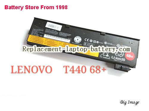 LENOVO T460P-0HCD Battery 72Wh Black