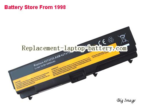 LENOVO FRU 42T4755 Battery 5200mAh Black