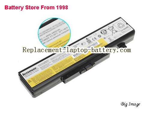 LENOVO Y480 Series Battery 4400mAh Black