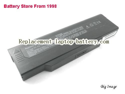 MITAC S26391-F6120-L450 Battery 6600mAh Black