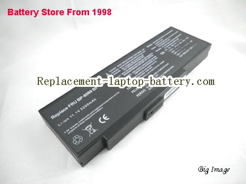 PACKARD BELL Easy Note E1280 Battery 4400mAh Black