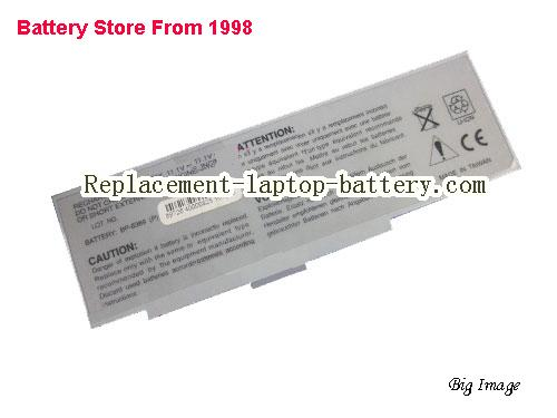 MITAC Easy Note E2 series Battery 5200mAh White