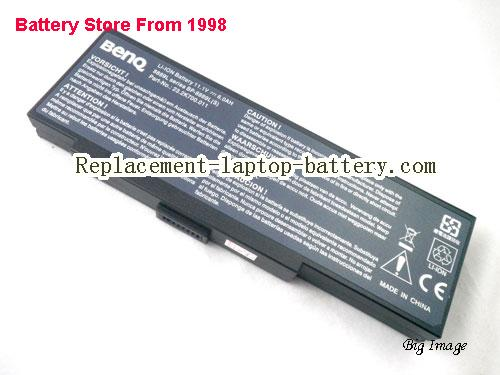 PACKARD BELL Easy Note E1280 Battery 6600mAh Black