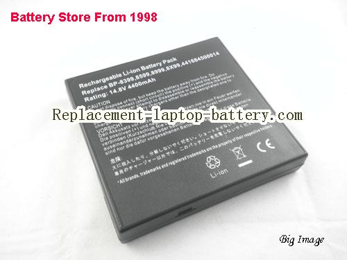 PACKARD BELL Easy Note F5275 Battery 4400mAh Black