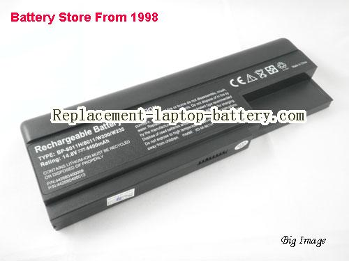 MITAC 4009657 Battery 4400mAh Black
