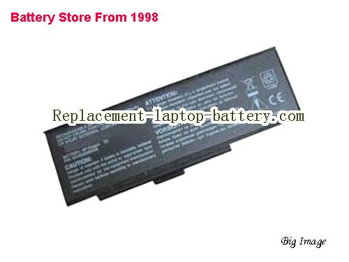 PACKARD BELL EasyNote W3540 Battery 6000mAh Black