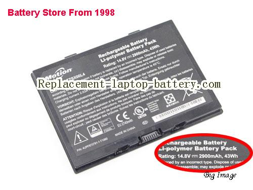 MOTION R12 tablet Battery 2900mAh, 43Wh  Black