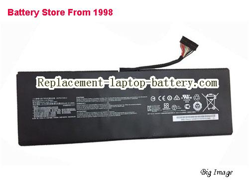 MSI GS40 6QE009XTH Battery 8060mAh, 61Wh  Black