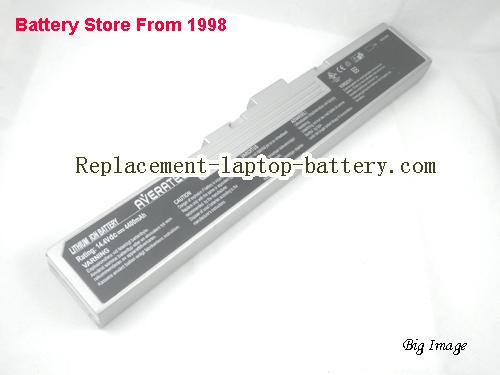 MSI MS 1039 Battery 4400mAh Silver