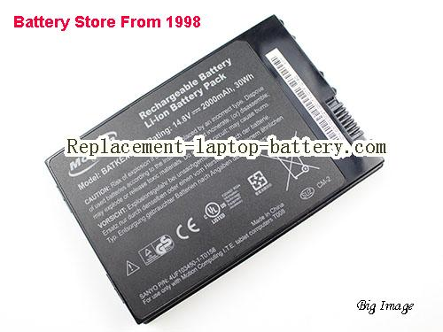 MOTION J3400 Battery 2000mAh Black