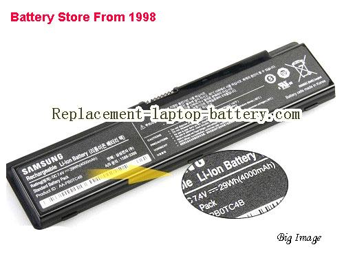 SAMSUNG 300U1A Series Battery 4000mAh, 29Wh  Black