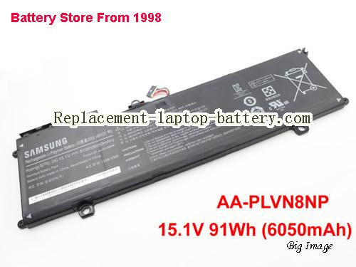 SAMSUNG AA-PLVN8NP Battery 6050mAh, 91Wh  Black