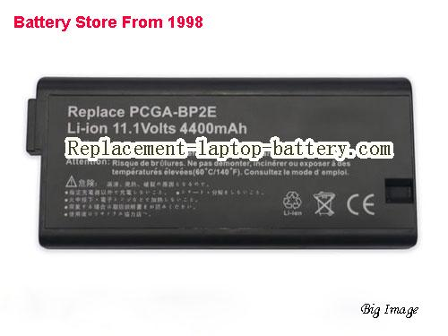 SONY PCGA-BP2EA Battery 4400mAh, 49Wh  Black