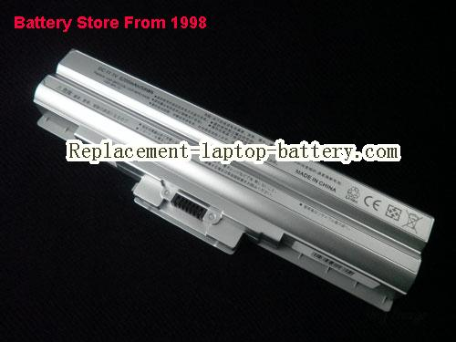 SONY VAIO VGN-CS190 Battery 5200mAh Silver