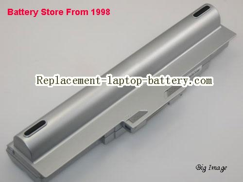 SONY VAIO VGN-CS190 Battery 6600mAh Silver