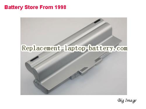 SONY VAIO VGN-CS190 Battery 8800mAh Silver