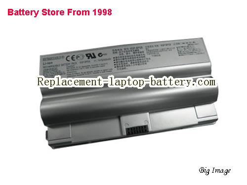 SONY VGP-BPL8 Battery 5200mAh Silver
