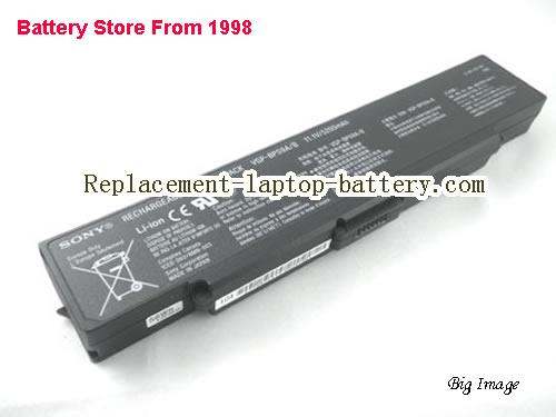 SONY VAIO VGN-NR385 Battery 4800mAh Black