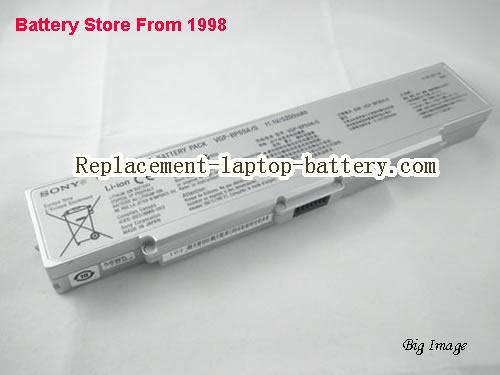 SONY VAIO VGN-NR385 Battery 4800mAh Silver