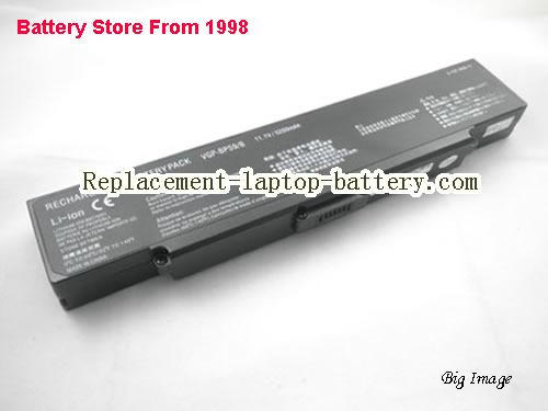 SONY VAIO VGN-NR385 Battery 5200mAh Black
