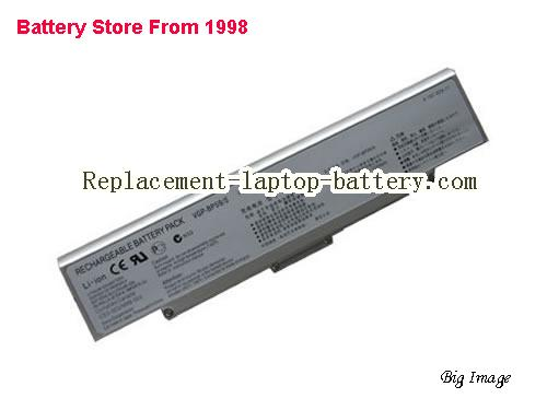 SONY VAIO VGN-NR385 Battery 5200mAh Silver