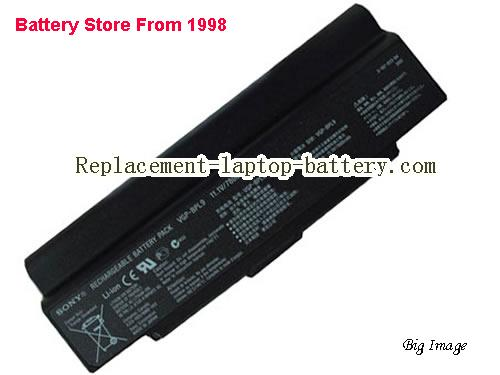 SONY VGP-BPS9A/B Battery 7800mAh Black