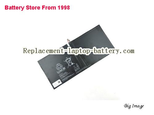 SONY Xperia Tablet Z2 SGP521 Battery 6000mAh, 22.8Wh  Black