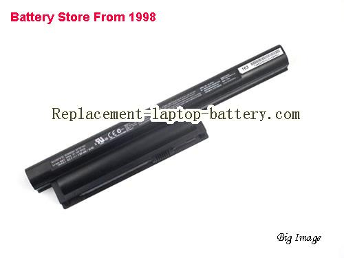 SONY VAIO VPC-CA15FF/W Battery 4000mAh, 44Wh  Black