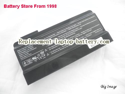 HASEE W430S Battery 4000mAh Black
