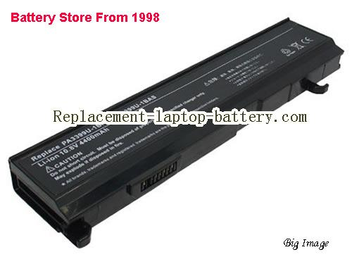 TOSHIBA Tecra A3-180 Battery 5200mAh Black