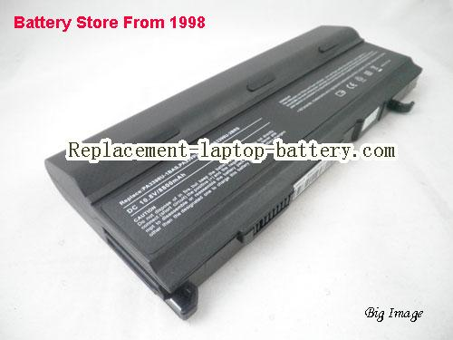 TOSHIBA Tecra A5-S118 Battery 8800mAh Black