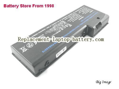 TOSHIBA PSPA0U-0TN01M Battery 6600mAh Black