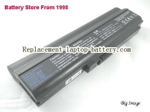 TOSHIBA Tecra M8-S8011 Battery 6600mAh Black