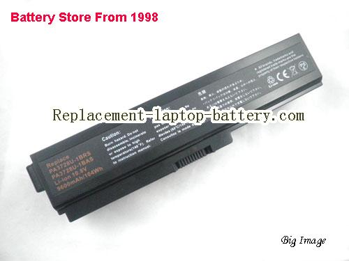 TOSHIBA PA3817U-1BRS Battery 8800mAh Black