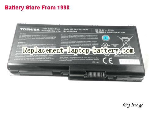 Toshiba PA3729U-1BRS,PA3730U-1BRS laptop battery, 87WH, 9cells