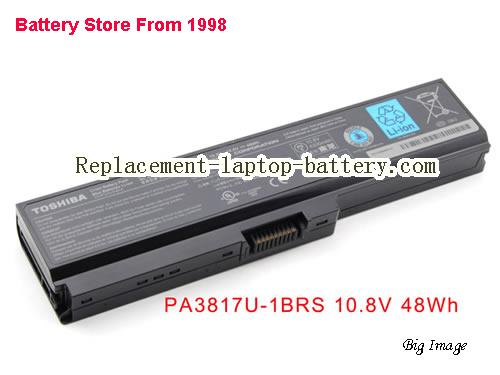TOSHIBA C670D-11K Battery 4400mAh Black