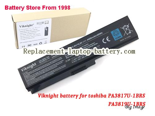 TOSHIBA T130-00M-3G Battery 4400mAh Black