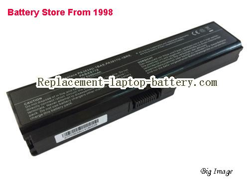 TOSHIBA PA3817U-1BRS Battery 5200mAh Black