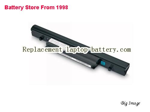 TOSHIBA Tecra R850-1C3 Battery 4400mAh, 49Wh  Black