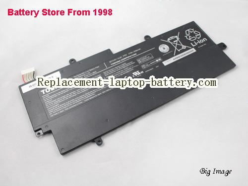 TOSHIBA SATELLITE PT23LA-00X0 Battery 3060mAh, 47Wh  Black