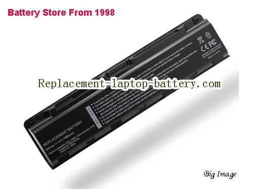 TOSHIBA C805-C10B Battery 6600mAh Black