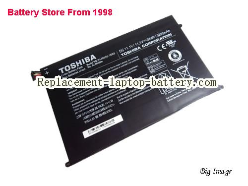 TOSHIBA PA5055 Battery 3280mAh, 38Wh  Black