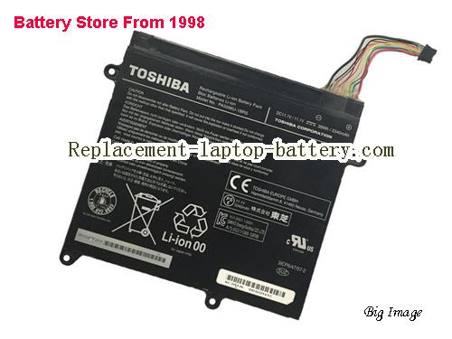 TOSHIBA W310108 Battery 3340mAh, 39Wh  Black