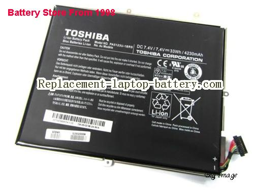 TOSHIBA Excite Pro AT10LEA10C Battery 4230mAh, 33Wh  Black