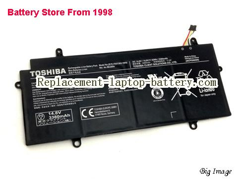 TOSHIBA Z30t-A-10X Battery 3380mAh, 52Wh  Black
